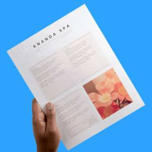 full page flyer printing